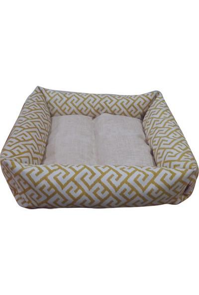 Mrs.Pillow Royal 20 1 Desen Kedi Ve Köpek Yatakları 45X45Cm