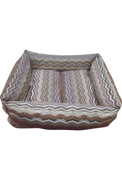 Mrs.Pillow Royal 6 1 Desen Kedi Ve Köpek Yatakları 45X45Cm