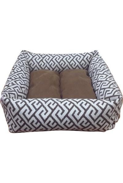 Mrs.Pillow Royal 18 Desenli Kedi Ve Köpek Yatakları 45X45Cm