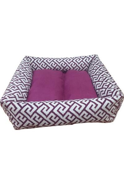 Mrs.Pillow Royal 17 1 Desen Kedi Ve Köpek Yatakları 45X45Cm