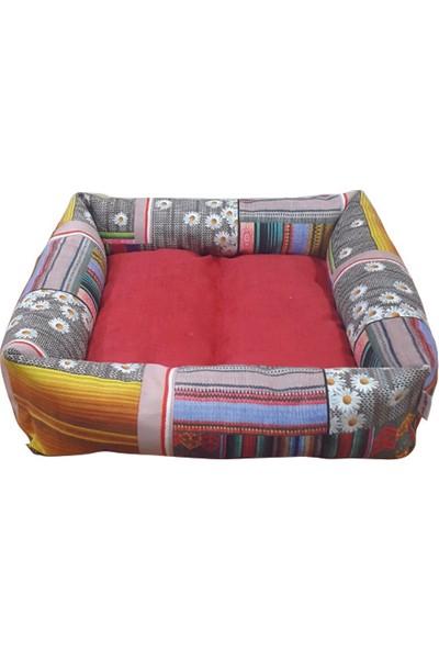 Mrs.Pillow Bos 1006 1 Desen Kedi Ve Köpek Yatakları 45X45Cm