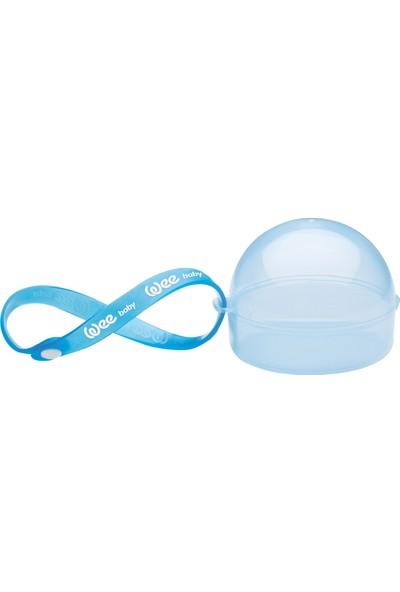 Wee Baby Emzik Saklama Kabı - Mavi