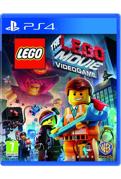 LEGO Movie Videogame PS4 Oyun