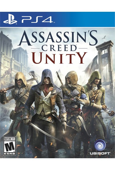 Assassin's Creed Unity PS4 Oyun