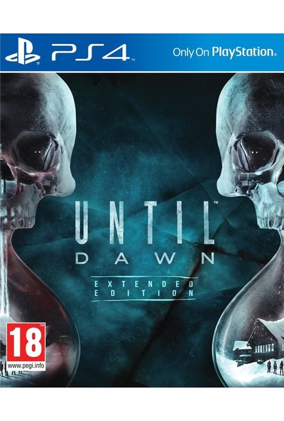 Until Dawn Extended Edition PS4 Oyun
