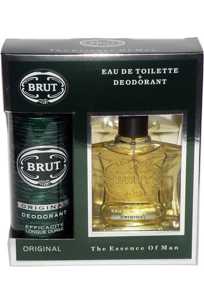 Brut Original Edt 100Ml Erkek Parfüm + Deodorant Set