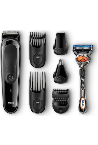 Braun Çoklu Bakım Seti MGK3060 - 8'i Bir Arada Saç ve Sakal Şekillendirici