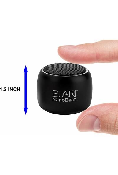 Elari NanoBeat Mini 3W Bluetooth Kablosuz Hoparlör - TWS Çift Hoparlör Bağlantısı - Rose Gold