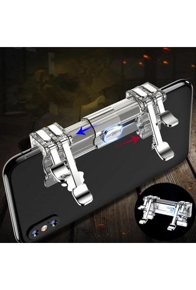 Case 4U Ateş Düğmesi K9 - PUBG - Tüm Oyun ve Telefonlar ile Uyumlu Oyun Konsolu - Universal Oyun Adaptörü