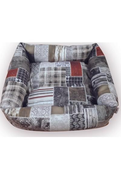 Mrs.Pillow Camilla Kk 1 Desen Kedi Ve Köpek Yatakları 45X45Cm