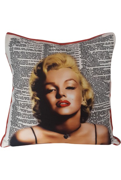 Mrs Pillow Biyeli 2108 Desenli Kırlent 43X43Cm