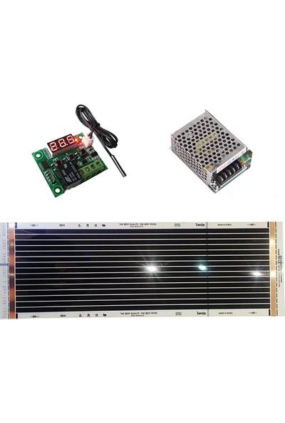 Termostat + 25X80 + 12 Volt Adaptör