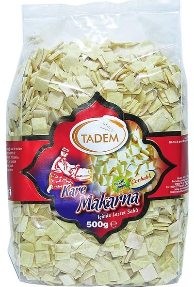 Tadem Kare Makarna 500 gr