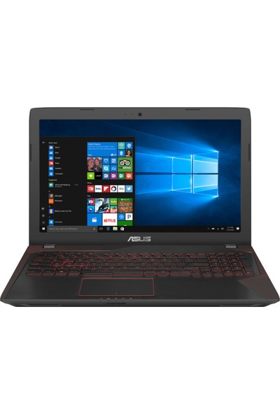 "Asus FX553VE-DM407 Intel Core i5 7300HQ 8GB 1TB GTX1050Ti Freedos 15.6"" FHD Taşınabilir Bilgisayar"