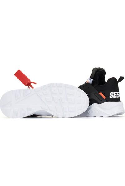 Dark Seer Off Günlük Ortopedik Ayakkabı 2019 Erkek Siyah Beyaz