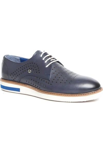 Pierre Cardin P63115D-4 Lacivert Erkek Deri Ayakkabı