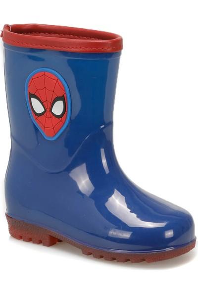 Spiderman 97255 Lacivert Kırmızı Erkek Çocuk Yağmur Çizmesi