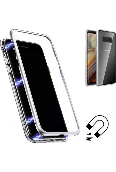 Gpack Samsung Galaxy Note 8 Kılıf Magnetic Cam Full Kapak