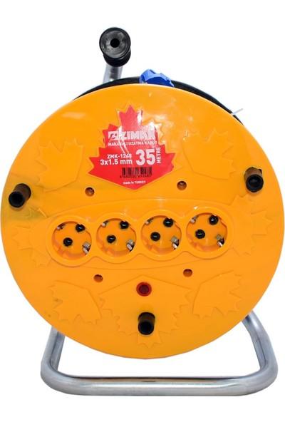 Zimak Makaralı Kablo 3X1,5 35 Mt