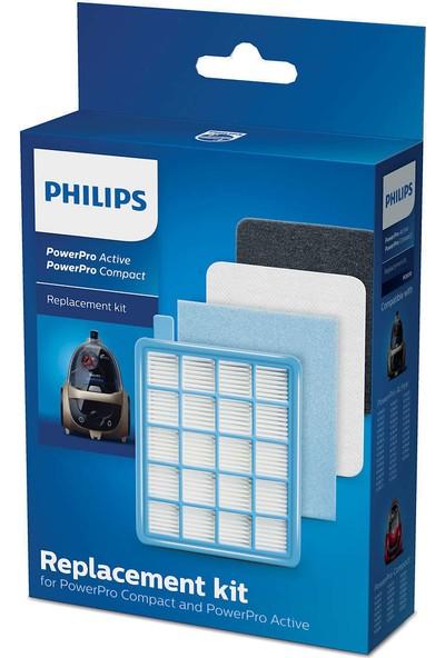 Philips Fc 8632 8633 Power Pro Hepa Filtre Seti