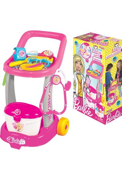 Dede Barbie Oyuncak Aksesuarlı Doktor Arabası