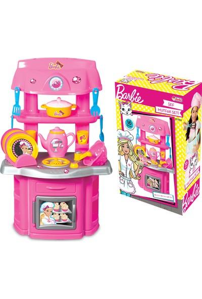 Dede Barbie Şef Mutfak Evcilik Seti