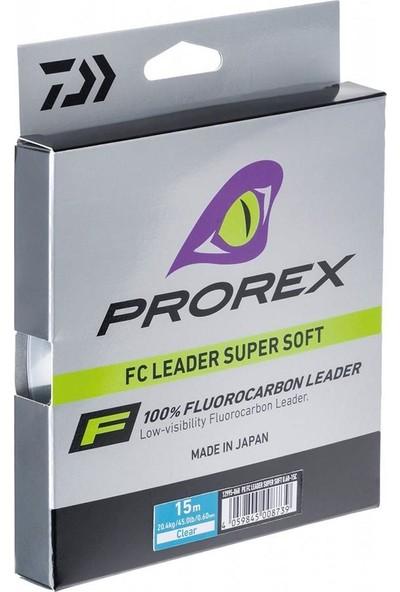 Daiwa Prorex FC Leader Süper Soft Clear Olta Misinası 50Mt