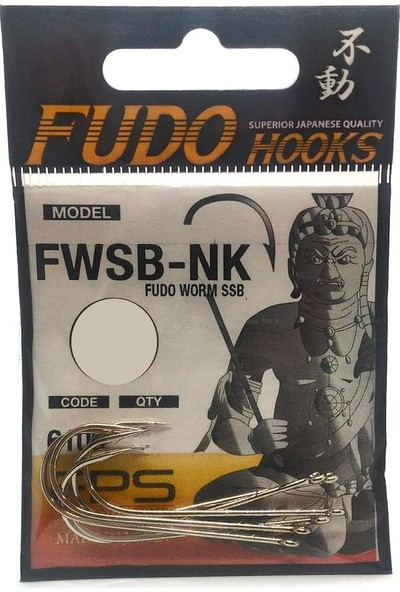 Fudo 6100 Worm SSB Nikel Olta İğnesi