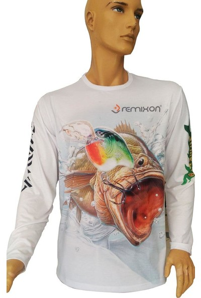 Remixon Uzun Kollu Fish T Shirt