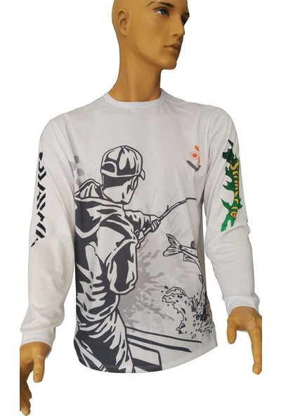 Remixon Uzun Kollu FisherMan T Shirt
