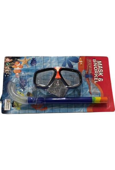 Bermuda Dolphin Maske Şnorkel Set