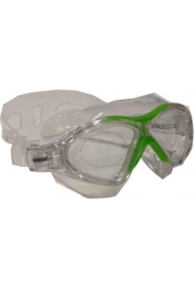 Bermuda Yüzücü Gözlüğü Silikon Sörf Antifog