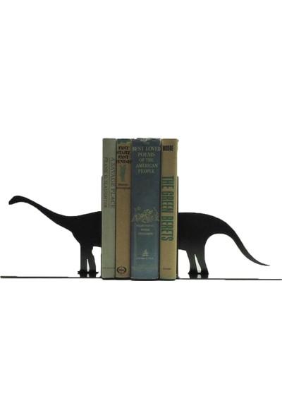 Simge Yapı Dekorasyon Dinozor Figürlü Dekoratif metal kitap Tutucu Kitap Desteği