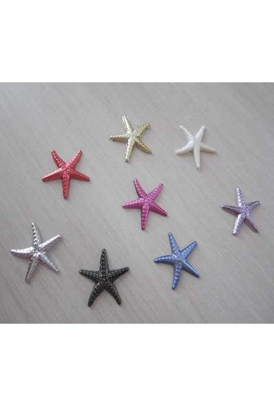 Cici Mini Deniz Yıldızı Plastik Mavi 10Lu