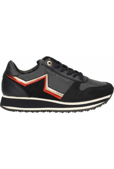 Tommy Hilfiger Fw03234-020 Tommy Retro Kadın Günlük Ayakkabı