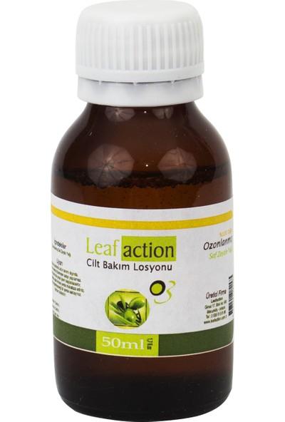 Leaf Action Ozon Yağı Ozonlanmış Zeytin Yağı 50 ml