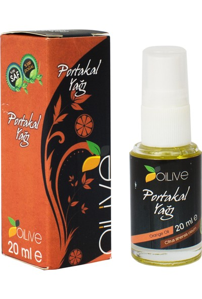 Oilive Portakal Yağı 20 ml Soğuk Pres