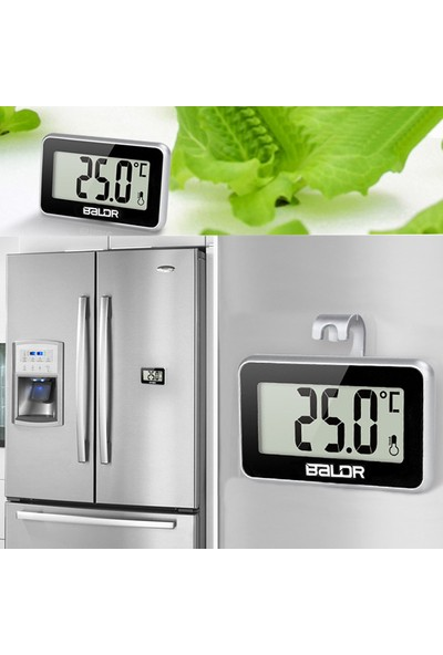 Emate Buzdolabı Askılı Büyük Rakamlı Digital Termometre Thr168