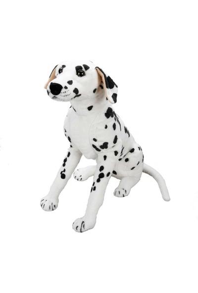 Puffy Friends Dalmaçyalı 68 cm Oyuncak Oturan Peluş Köpek