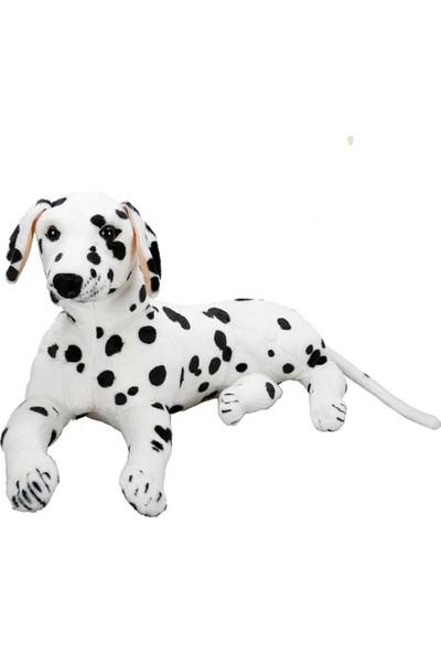 Puffy Friends Dalmaçyalı 68 cm Oyuncak Yatan Peluş Köpek