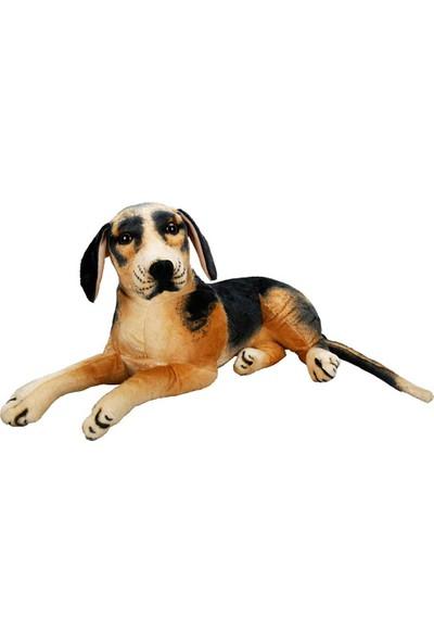 Puffy Friends Beagle 68 cm Oyuncak Yatan Peluş Köpek