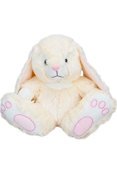 Puffy Friends Koca Ayaklı 38 cm Peluş Oyuncak Tavşan - Krem