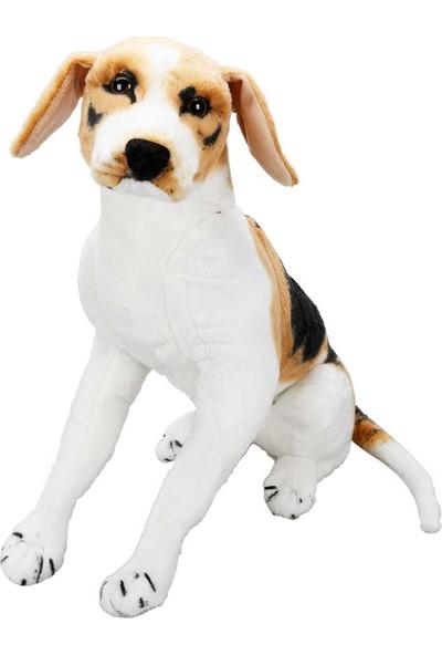 Puffy Friends Beagle 68 cm Oyuncak Oturan Peluş Köpek