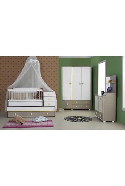 Cadde Yıldız Gökkuşağı Bebek Odası