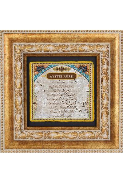 AYETEL KÜRSİ TEMALI DOĞAL TAŞ TABLO - DT048