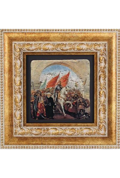 FETİH TEMALI DOĞAL TAŞ TABLO - DT046
