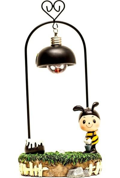 Arı Motifli Işıklı Biblo - DK001