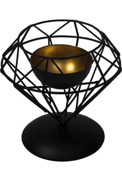Asimetrik Metal Mumluk - DK058