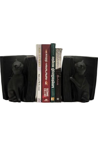 Bookcat Kedili Kitap Tutacağı - DK064