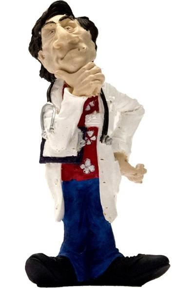 El Boyaması Erkek Doktor Biblo - H005
